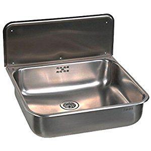 Gospo Ausgussbecken Mit Ausziehbare Armatur Waschbecken 61 X 44 X