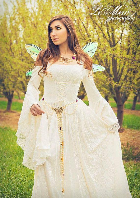 Gwendolyn Medieval or Renaissance Fairy Wedding by RomanticThreads ...