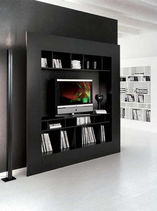 Cattelan Italia Window TV Bookcase By Giorgio