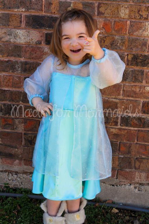 DIY Tutorial DIY Disney Frozen / DIY Elsa Frozen Everyday Princess Dress