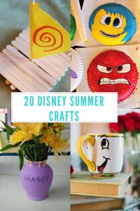 20 Disney Summer Crafts Disney Crafts For Kids Disney Diy Crafts Summer Crafts