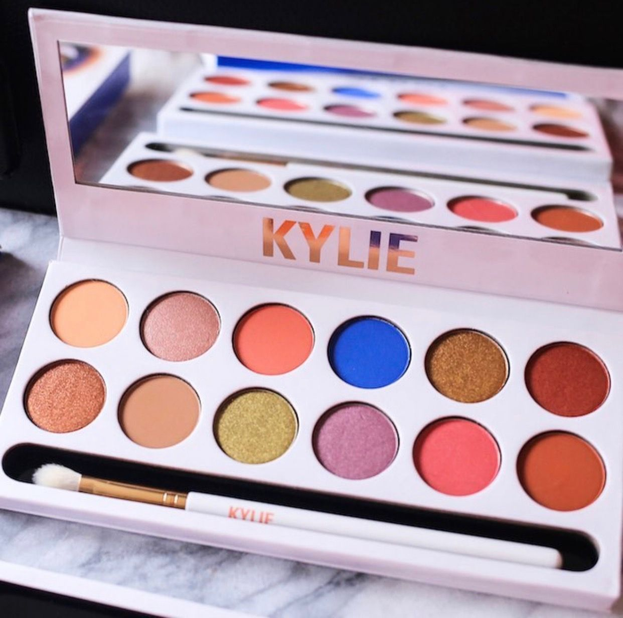 Royal Peach Palette by Kylie Cosmetics. Kylie Jenner ...