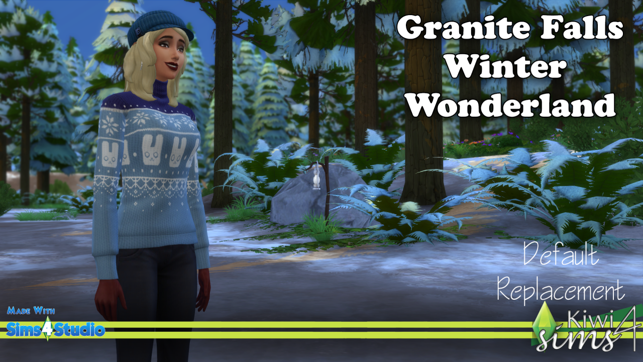 Now Winter Nights Enlarge This Number Of Their Sims 4 Sims Winter Wonder