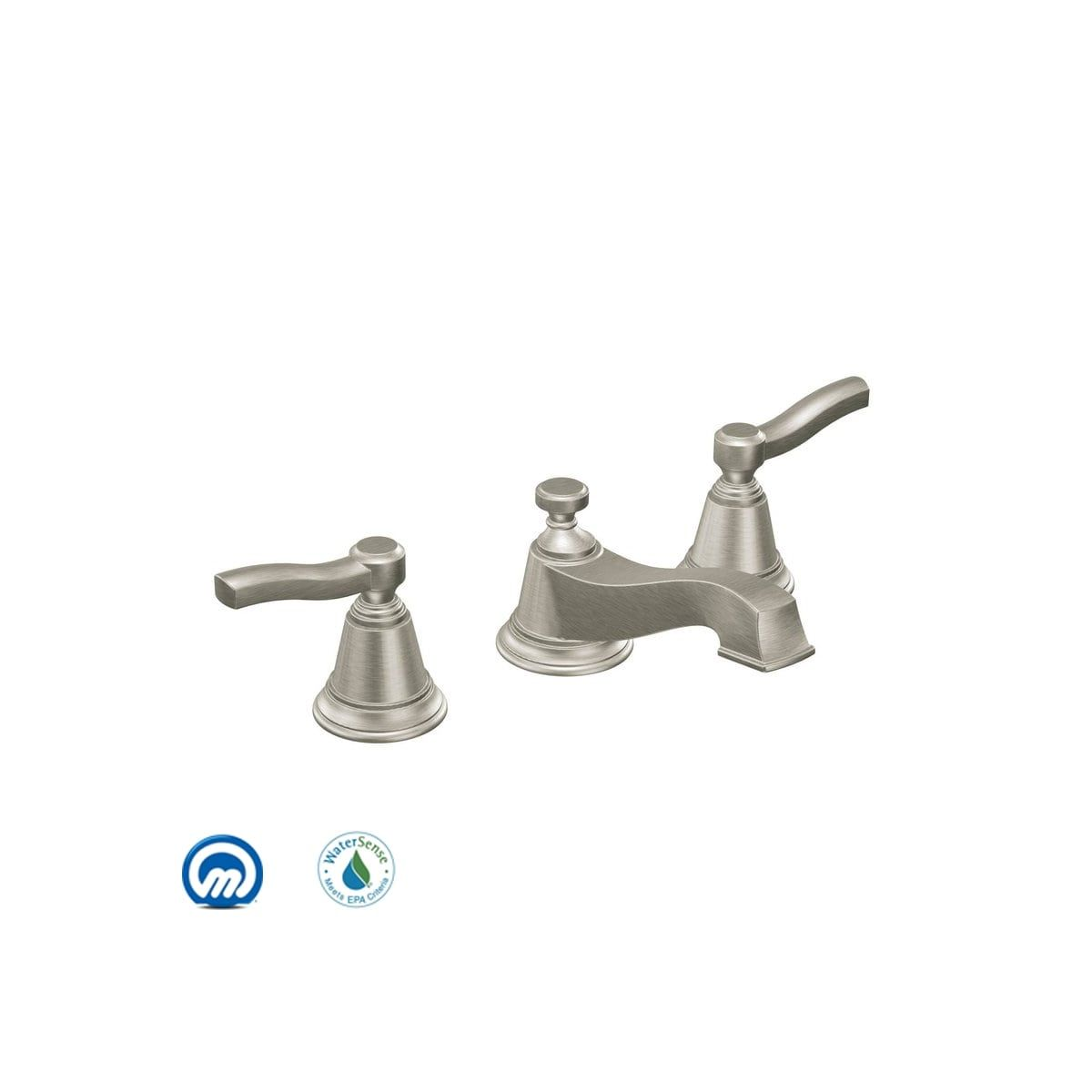 Moen Ts6205 Widespread Bathroom Faucet Bathroom Faucets Faucet
