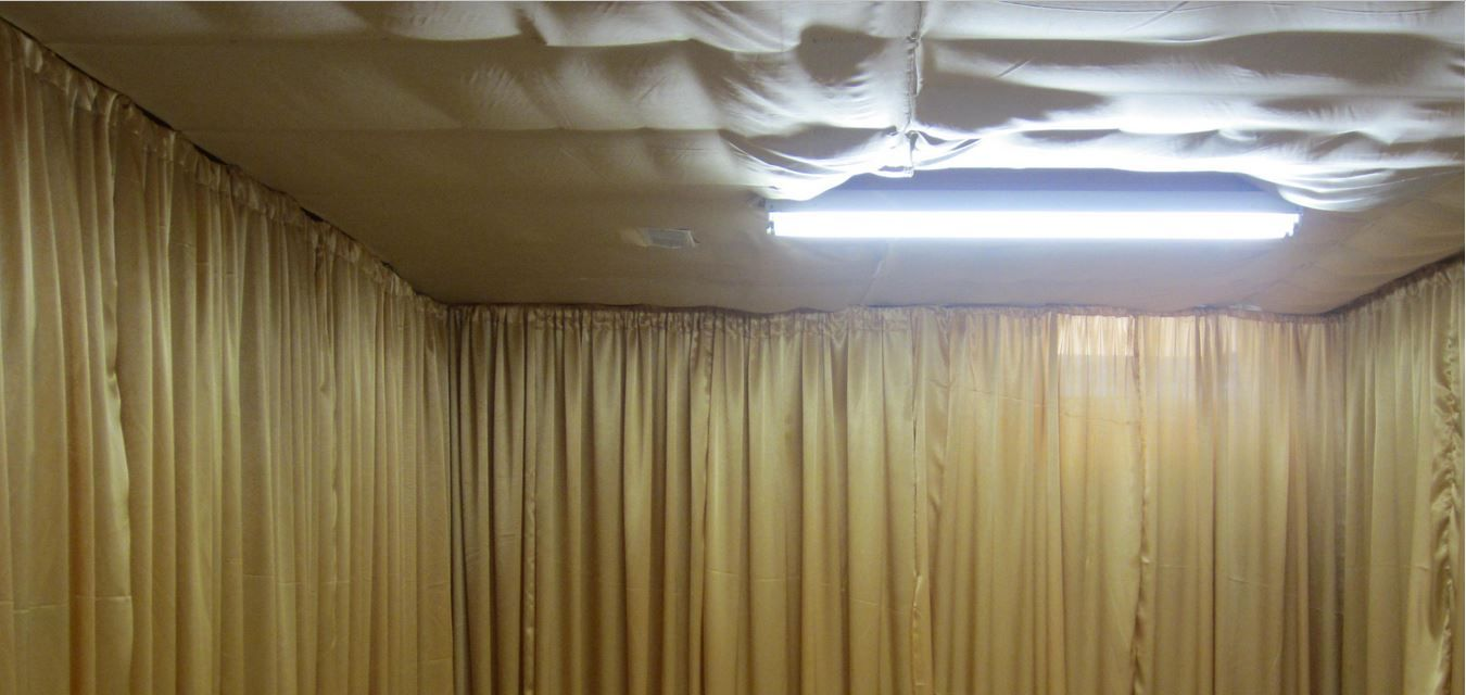 unfinished basement ceiling ideas. Unfinished-basement-fabric-ceiling-ideas Unfinished Basement Ceiling Ideas