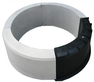 rund gjutform betong