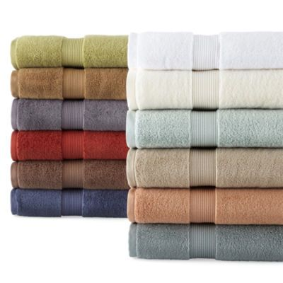 Buy Royal Velvet Signature Soft Solid Bath Towels At Jcpenney Com