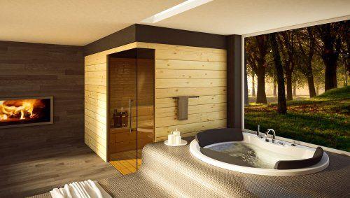 Bagni moderni con vasca incassata cerca con google bagno style pinterest bathroom - Bagni moderni con vasca ...