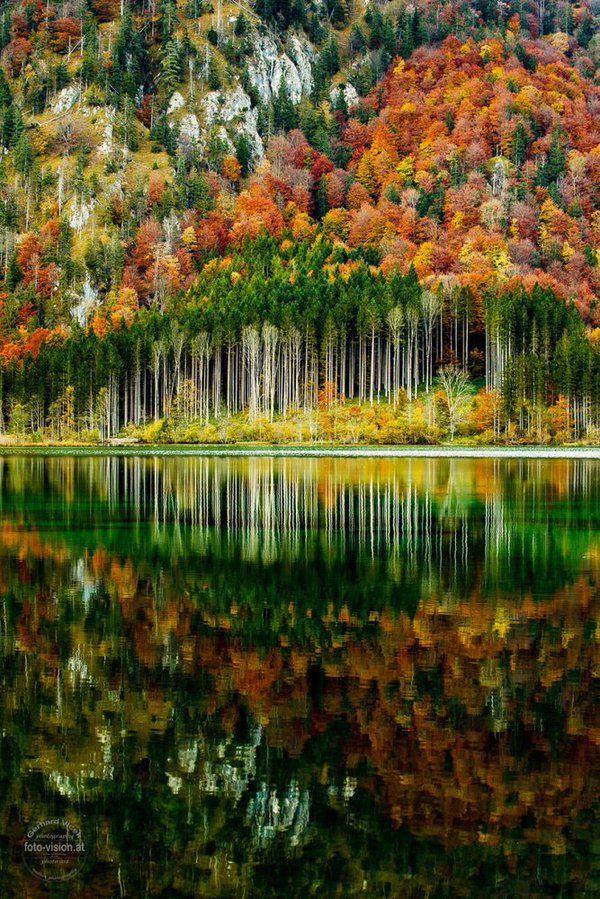"""Autumn in the Austrian Alps"". Photography by Gerhard Vlcek"