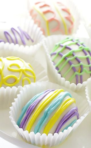 ♔ Easter Egg Golden Oreo Truffles