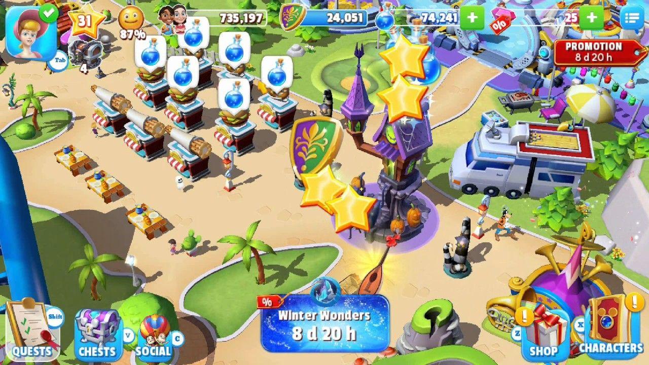 Android and ios disney magic kingdoms hack cheats add