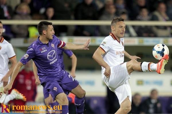 """19 Aprile 2014 Fiorentina-Roma 0-1   #Totti: """"Stiamo consolidando una mentalità vincente. #Champions? Orgoglio e soddisfazione"""".  #ASRoma"""