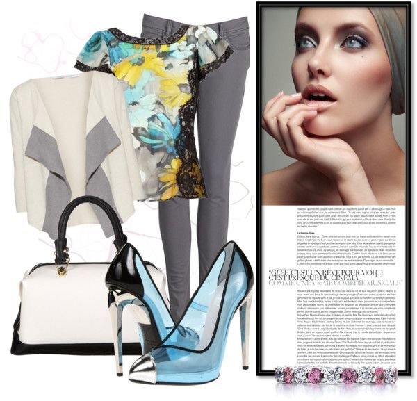"""""""We're Like Diamonds in the Sky"""" by denisa-r ❤ liked on Polyvore"""