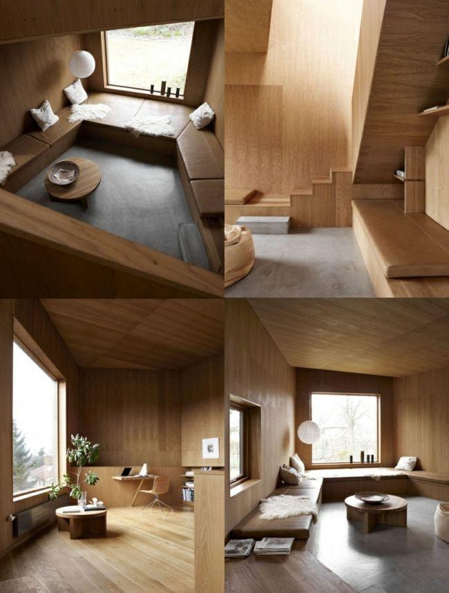 Wohnung Treppe Innenausbau Holz Boden   Fensterbank   Pinterest ...