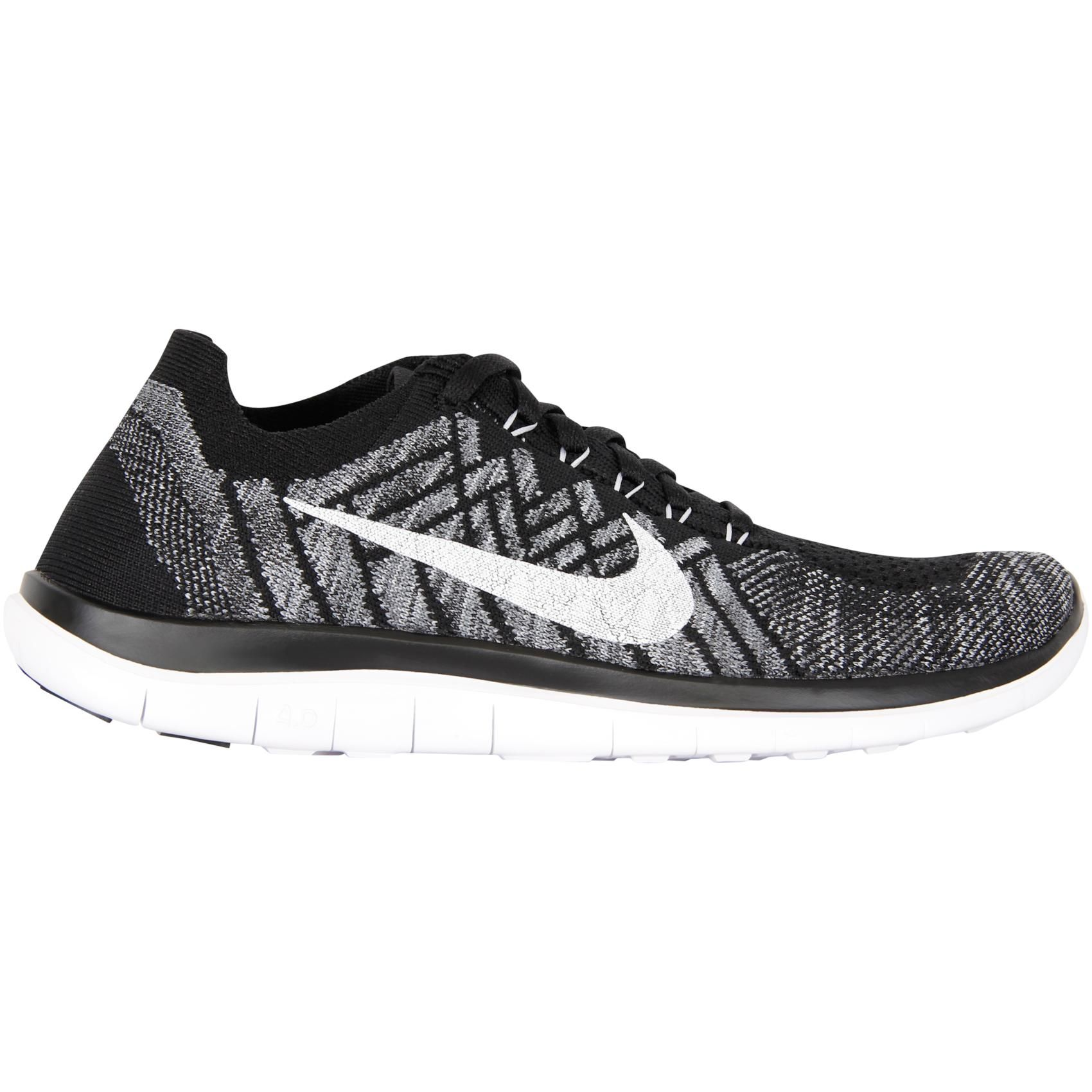 I have them and they are amazing  Buy Nike Free 4.0 Flyknit - Dame in Black/White-wolf Gre online