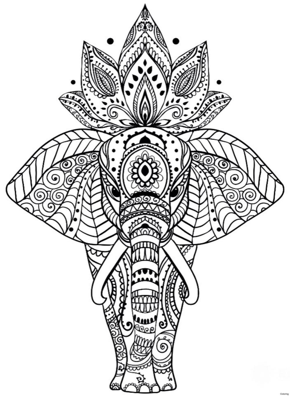 Coloring Page: Mandala Coloring Pages Free Printable ...