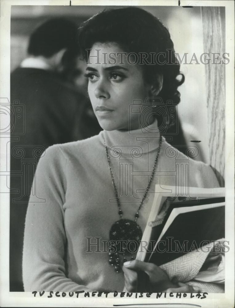 1969 Press Photo Denise Nicholas Actress In 2019 Leading Ladies