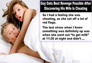 Cheating husband wife takes over