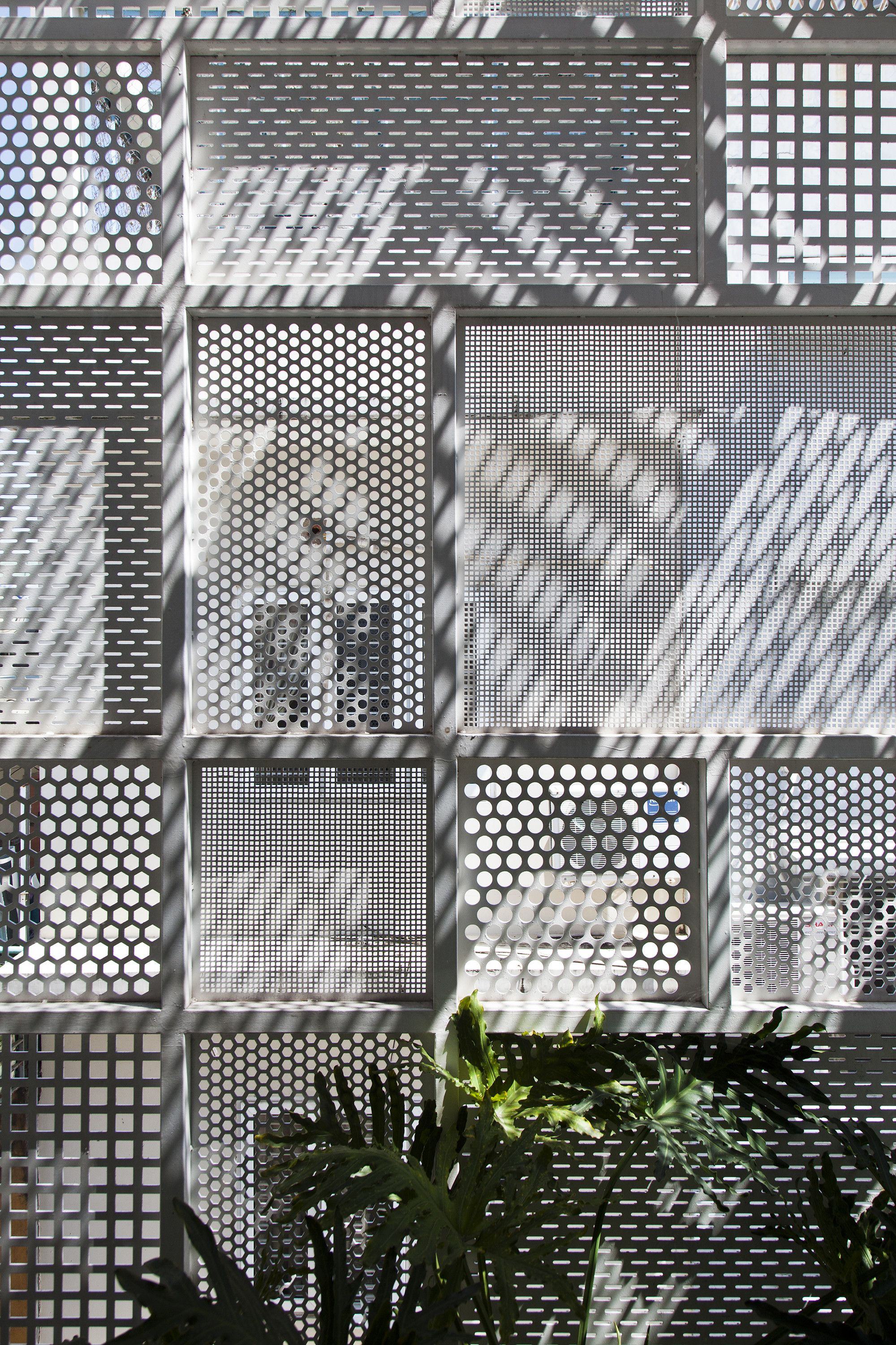 Gallery of 3x10 house dd concept 13 perforated metal for Architectural metal concepts nj