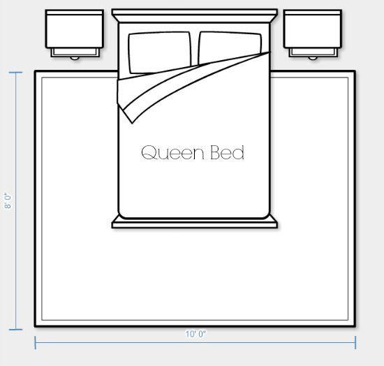 Bedroom Area Rug Options Reader Question Rug Size King