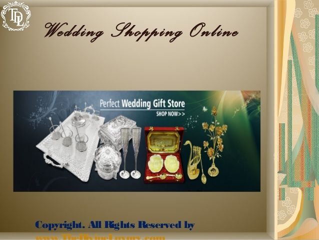 Shopping Is Much Easier Now At Online Wedding Stores Which Not Only