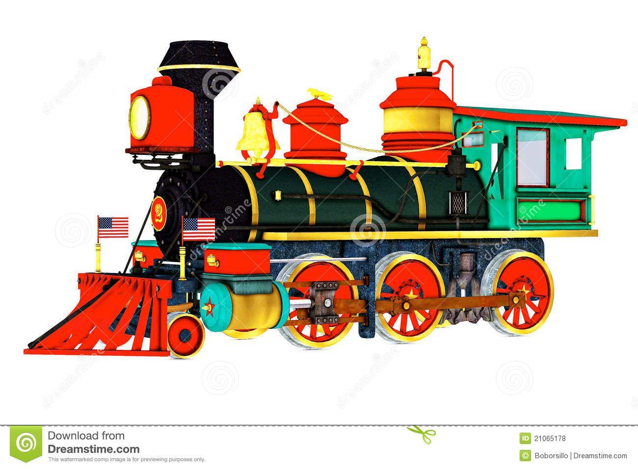 Colourful Steam Engine Steam Engine Trains Train Clipart Steam Engine