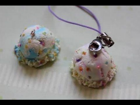 ❅ Polymer Clay Ice Cream Scoops ❅