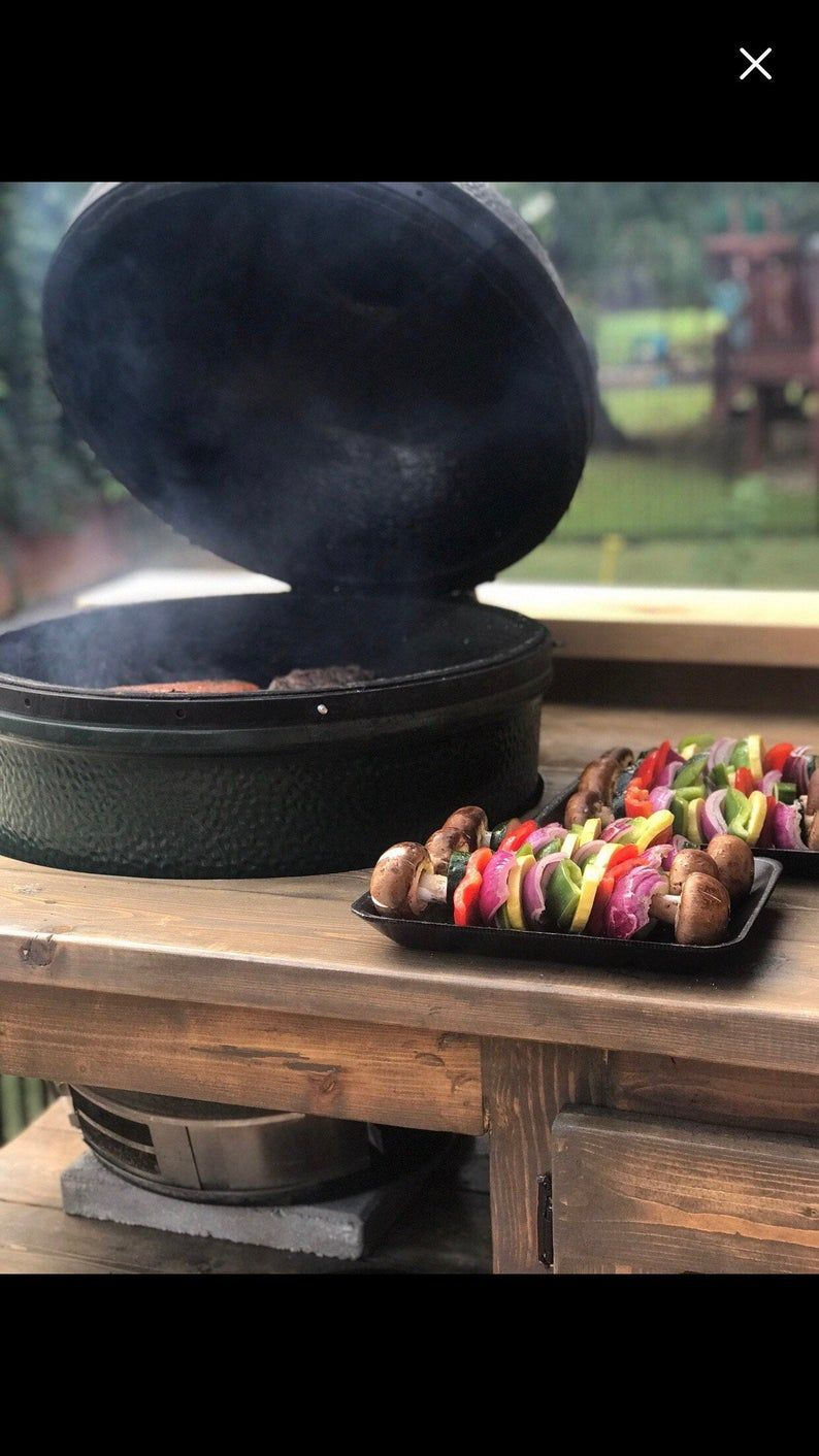 Big Green Egg/Kamado/Grill Table Briarsmoke Etsy in 2020