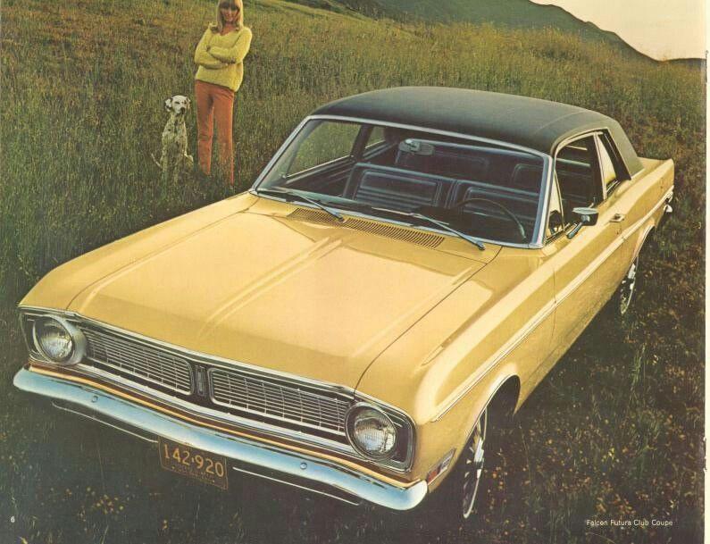 1968 ford falcon ford falcon car ford american classic