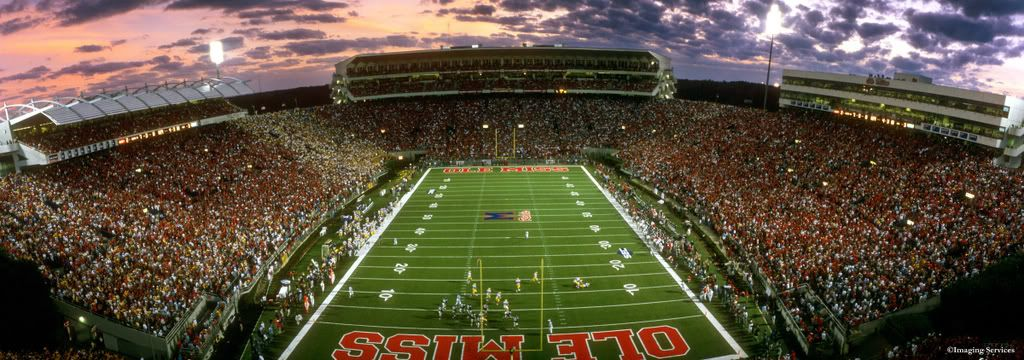 Vaught Hemingway Stadium No Place Better Than Ole Miss For A True Football Experience Oxford Ms Ole Miss Ole Miss Football Dream School