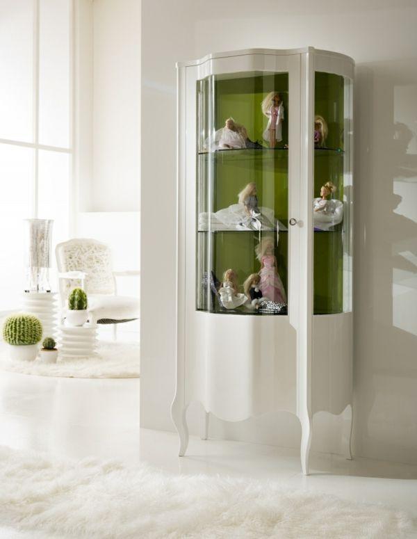 weißer vitrinenschrank attraktives design | wohnzimmer | Pinterest ...
