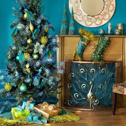 Peacock Fireplace Screen Holiday Food Crafts And Decor