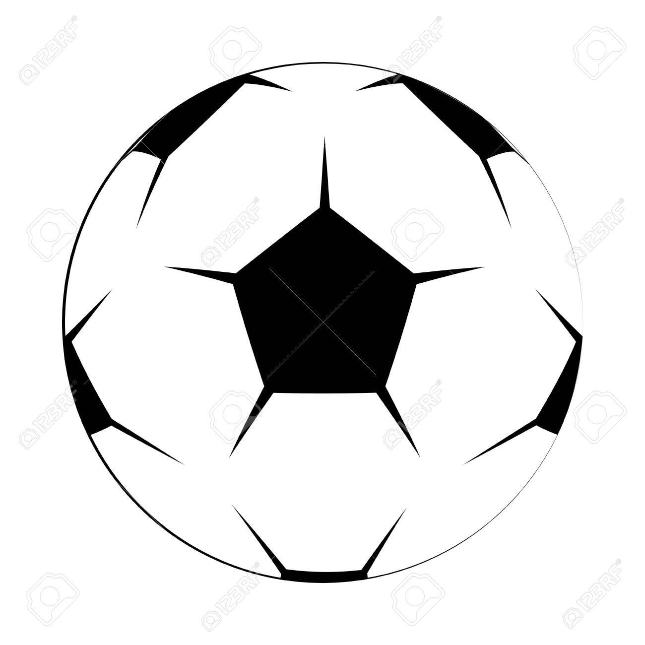 Soccer Football Ball Equipment Cartoon Isolated Vector Illustration Graphic Design Aff Equipment Cartoon Ball So Graphic Design Football Ball Soccer