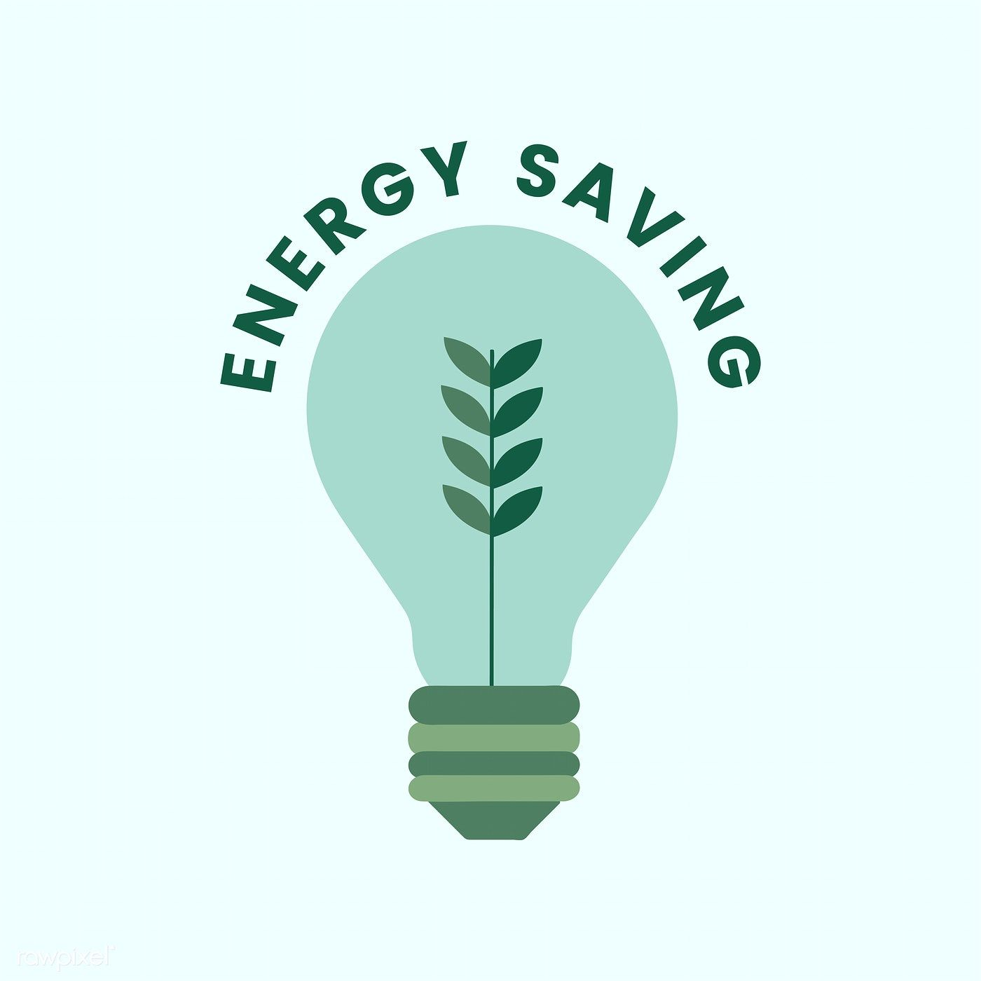 Electricity and energy saving icon | free image by rawpixel.com | Save  energy poster, Save energy, Save electricity poster