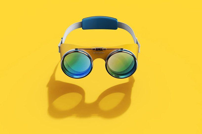 6079c28c3 givenchy VR goggles: imagine fashion's future foray into augmented reality  www.designboom.com