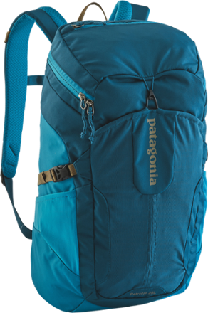 The largest top loading pack made by Patagonia, the Petrolia