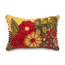 Flower pillow!