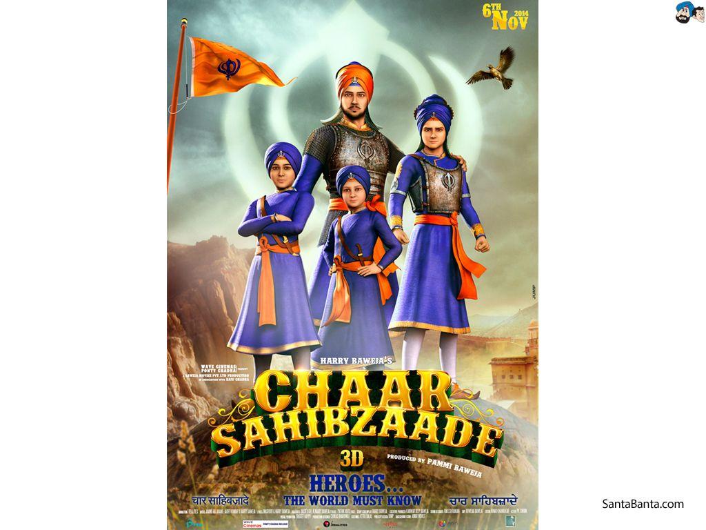 chaar sahibzaade 4k