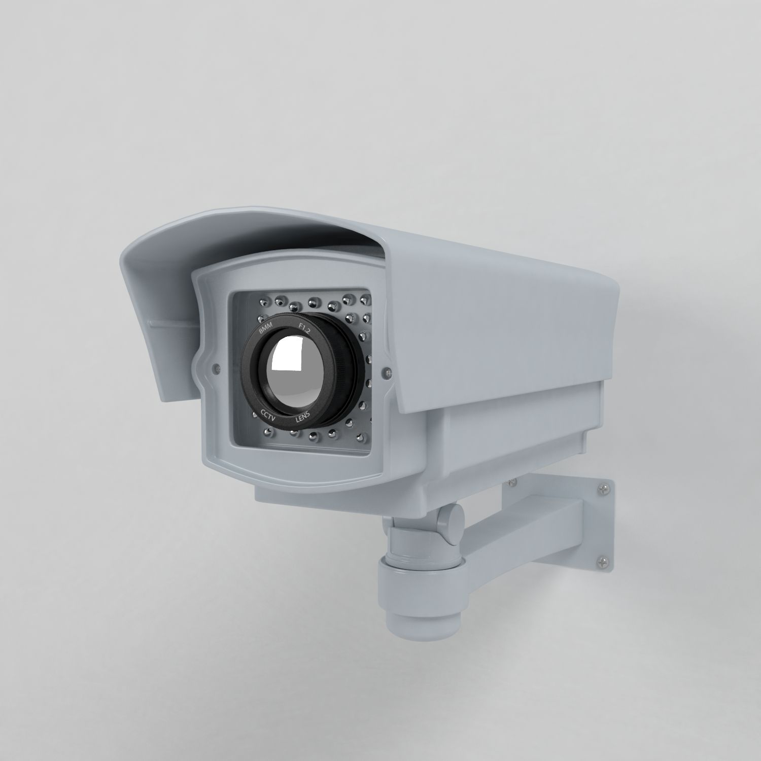 D model security camera cctv closed circuit cam