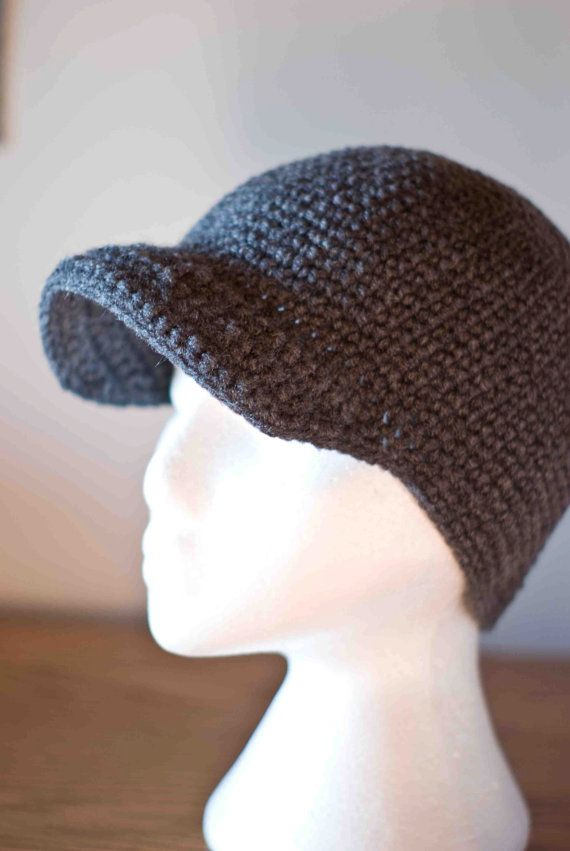 17fabca2feb Winter Beanie Cap with Brim for Men Boys Children - Deep Hat for  snowboarding and skiing.  35