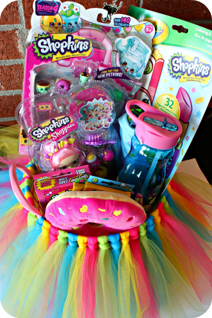 DIY Shopkins Easter Basket Count Birthdays And Girls