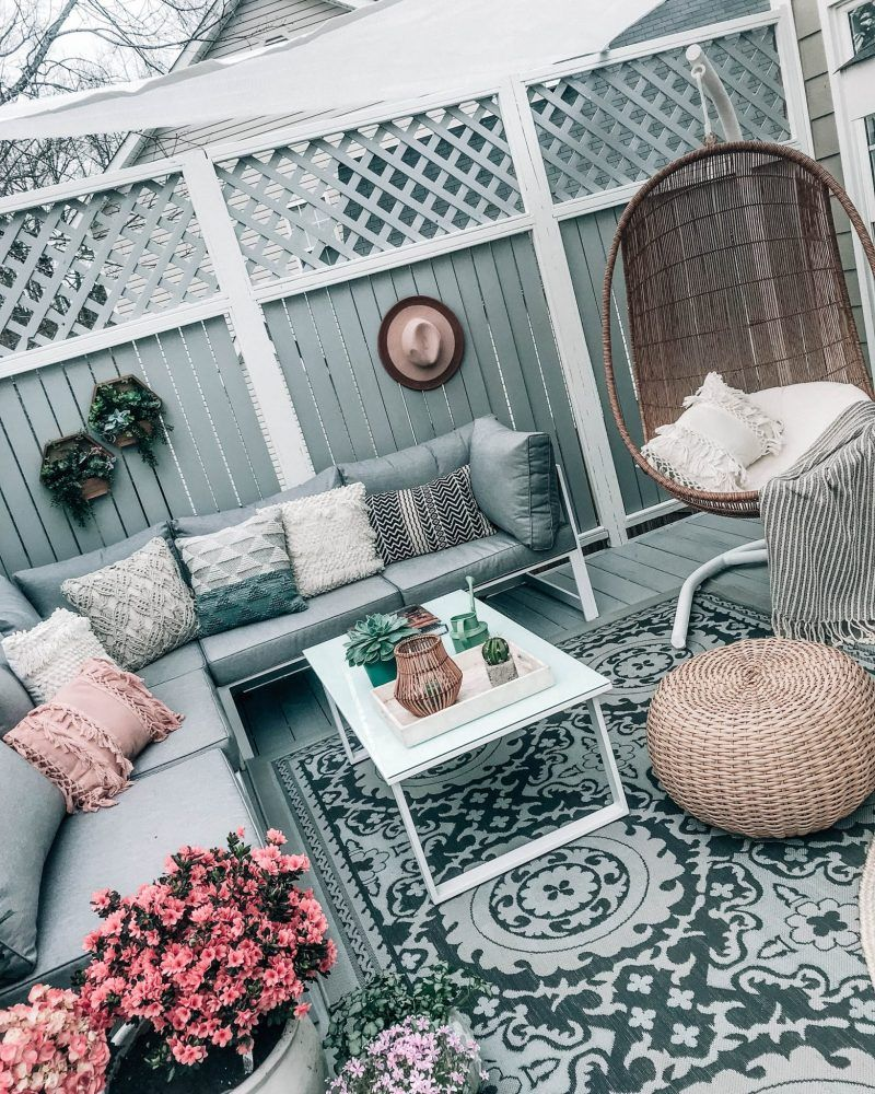 9 Affordable Dupes For The Target Egg Chair Red Soles And Red Wine Patio Furniture Makeover Patio Decorating Ideas On A Budget Diy Patio Furniture