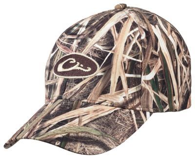 2ca59fbab59 Drake Waterfowl Systems Waterproof Camo Caps - Mossy Oak Shadow Grass Blades