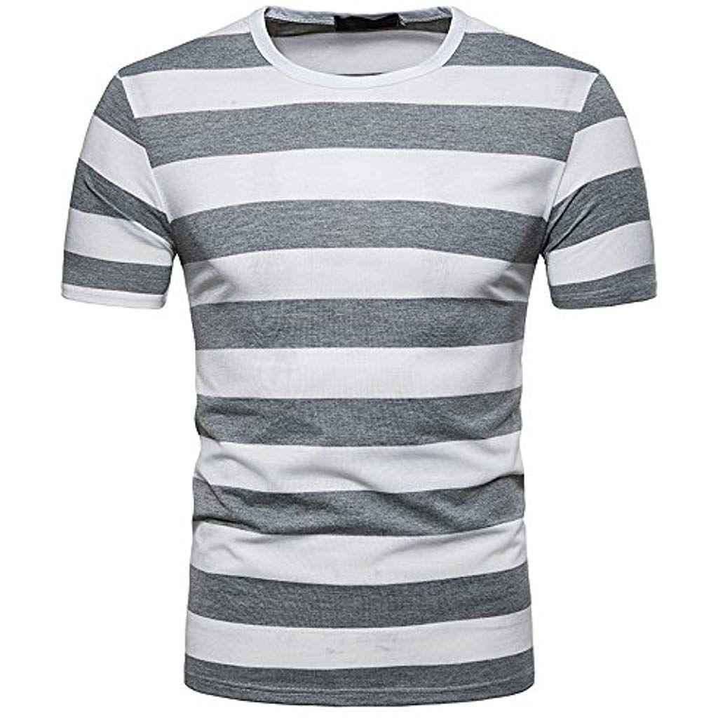 a478fc639 T-Shirt HommeDuttaÉTé Nouvelle Saison Sweat-Shirt T-Shirt à Manches ...