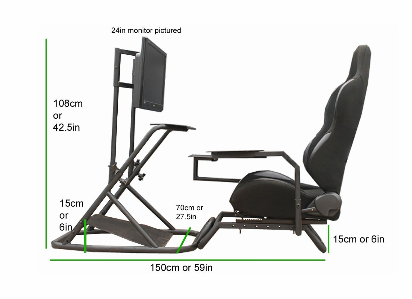 Racing Seat Office Chair Diy Hanging Ceiling Cockpits Bookmark Worthy Pinterest Sims