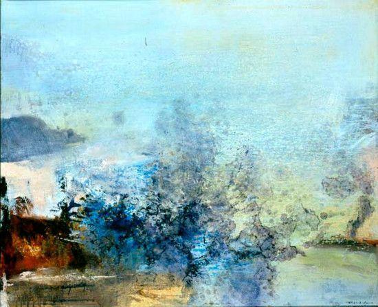 Chinese Abstract Painter Zao Wou Ki Dies Aged  Lifestyle News Sina English