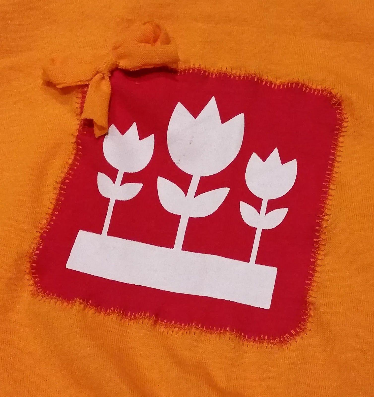 Sunny Sewing: Stoere, oranje jurk voor Koningsdag. Details