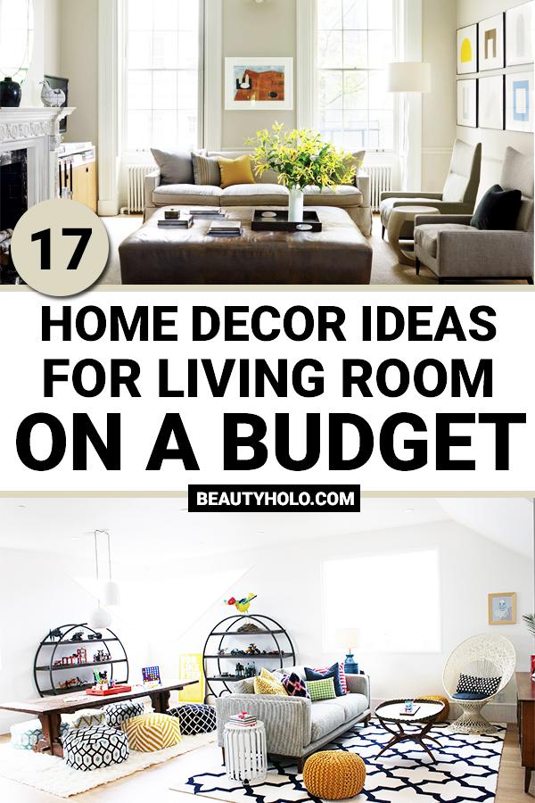 17 Best Home Decor Ideas For Living Room On A Budget Homedecor