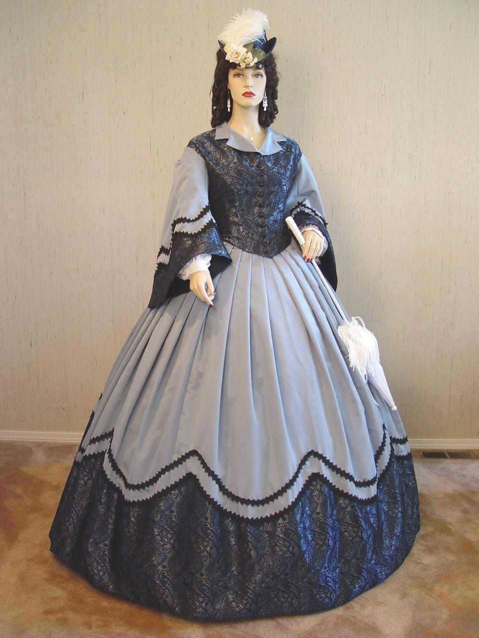 bluecivilwar.jpg (508514 bytes) Old fashion dresses