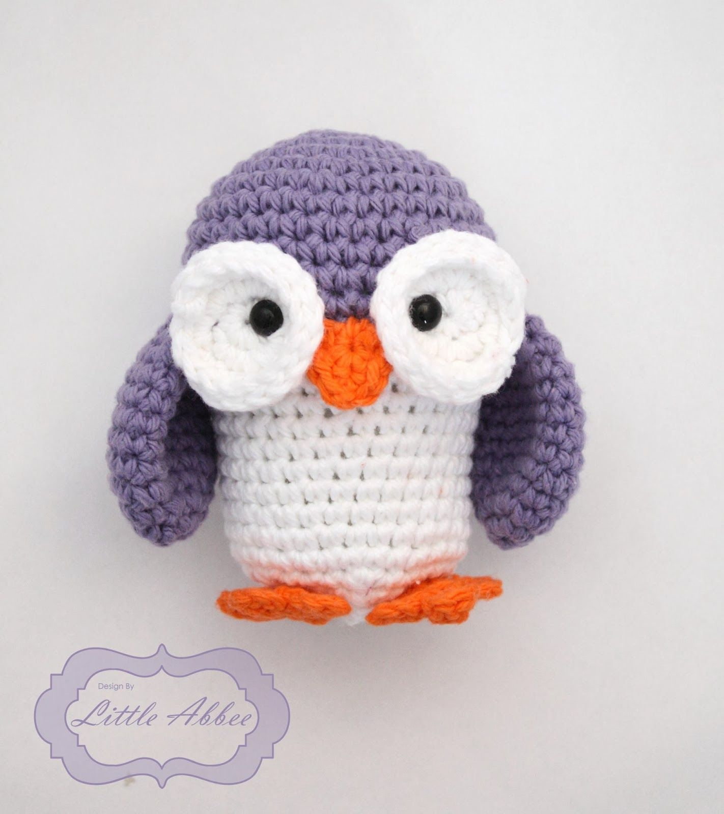 Allie the Owl Free Amigurumi Pattern http://littleabbeepatterns ...